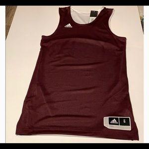 Adidas athletic unisex Jersey tank top